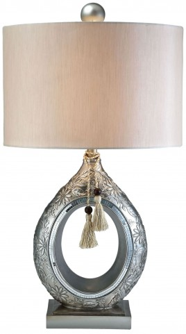 Farrah Mirror Strips Table Lamp
