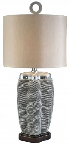 Sylvia Pearl Stone Table Lamp