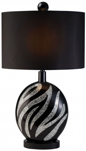 Stacey Zebra Pattern Table Lamp