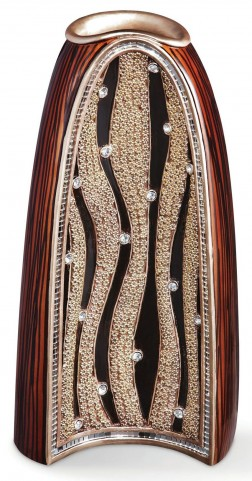 Velma Wooden Decorative Vase Set of 4