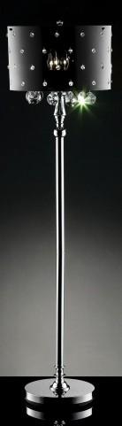 Bronte Hanging Crystal/Acrylic Floor Lamp