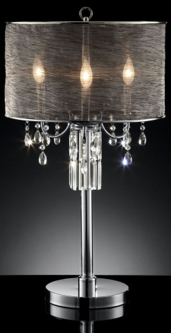 Gina Shear Hanging Crystal Table Lamp