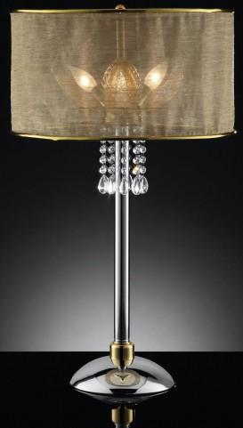Gladys Shear Hanging Crystal Table Lamp
