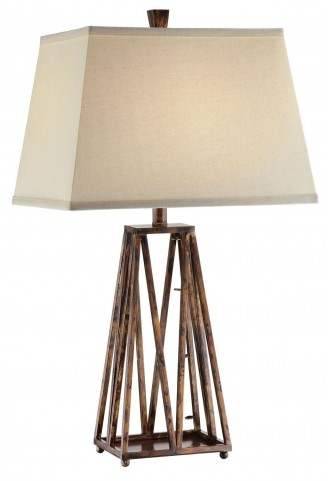 Stella Antique Copper Table Lamp Set of 2