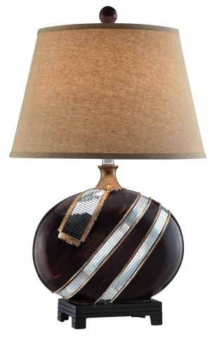 Lou Wood Table Lamp Set of 2