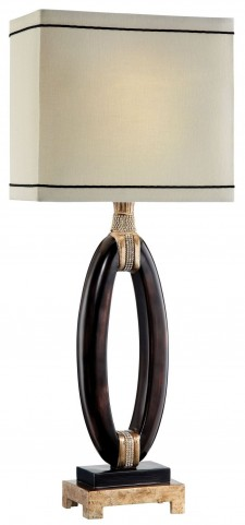 Ophelia Dark Brown Table Lamp Set of 2