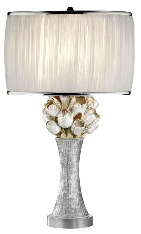 Simone Silver Table Lamp