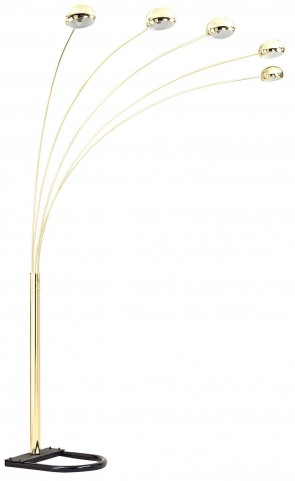 "Glora Gold 86"" Arch Lamp"