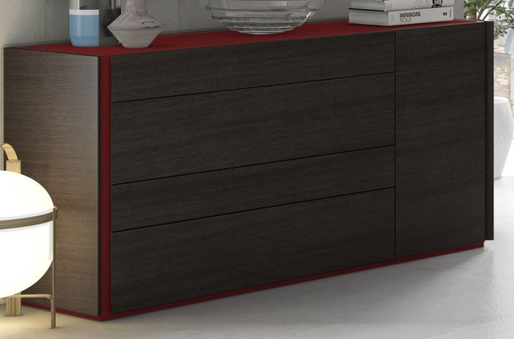 Lagos Natural Light Grey Lacquer Dresser