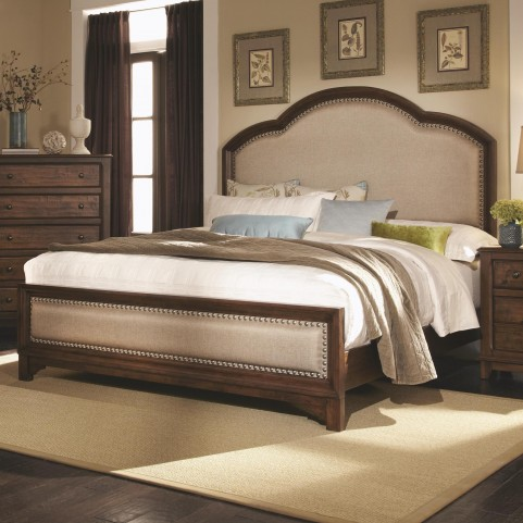 Laughton Queen Panel Bed