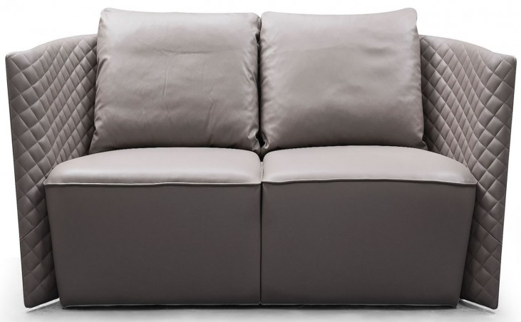 Lauren Leather Loveseat