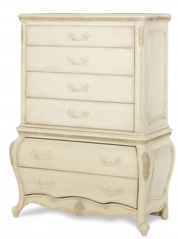 Lavelle Blanc 6 Drawer Chest