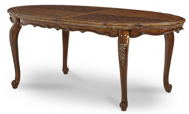 Lavelle Melange Oval Leg Dining Table