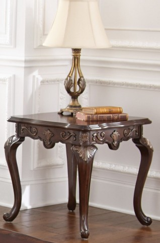 Lisburn Gold Tipping End Table