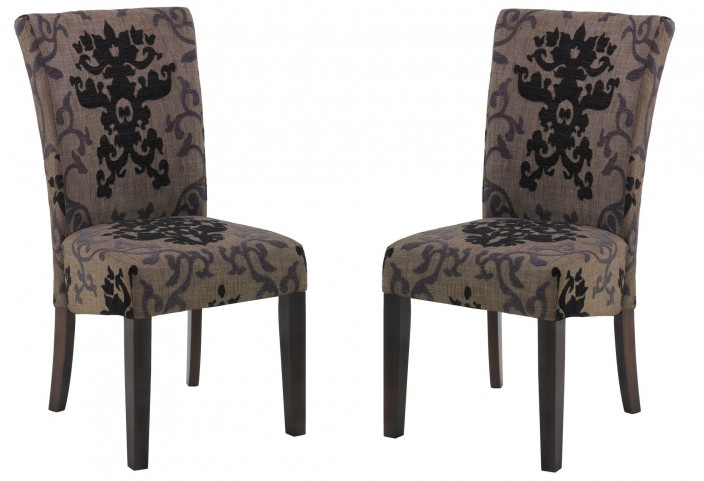 Montecito Fabric Side Chair Set of 2