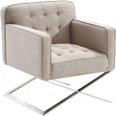 Chilton Gray Fabric Modern Chair