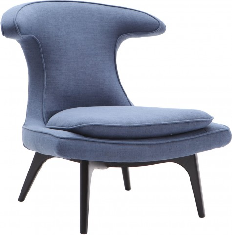 Aria Blue Fabric Upholstery Chair