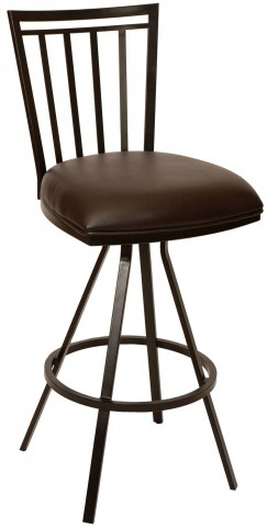 "Aidan 26"" Coffee Barstool"