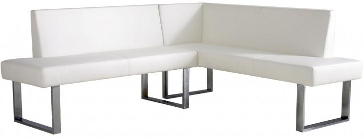 Amanda White Corner Sofa