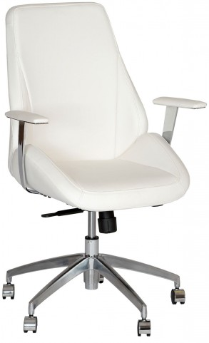 Argo White Office Chair