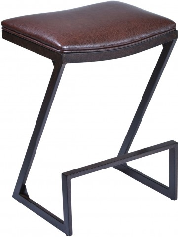 "Atlantis 30"" Brown Barstool"