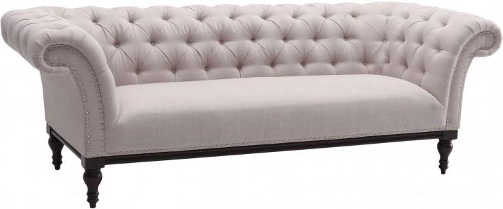 Avery Sand Fabric Sofa