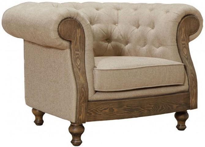 Barstow Sand Fabric Chair