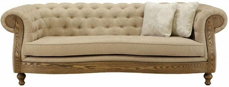 Barstow Sand Fabric Sofa