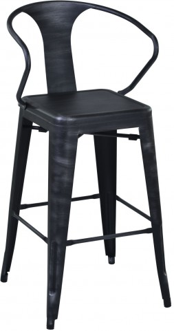 "Berkley 26"" Grey Barstool"
