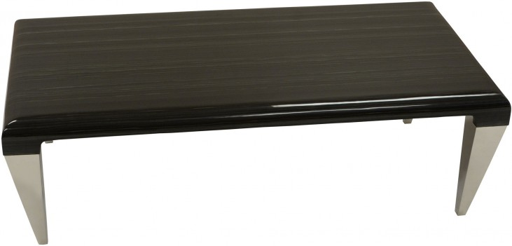 Chow Black Marble Coffee Table