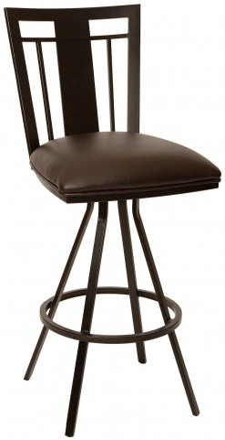 "Cleo 30"" Coffee Barstool"