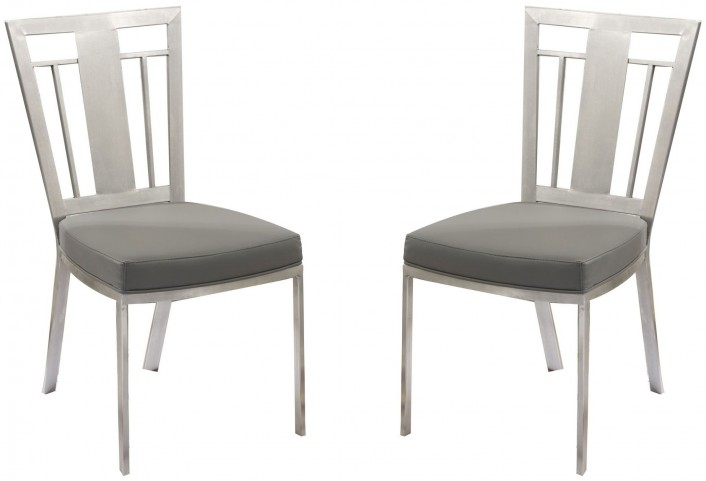 Cleo Gray Dining Chair Set of 2