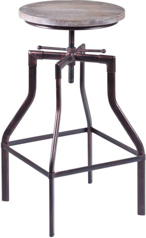 Concord Copper Adjustable Barstool
