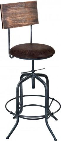Damian Grey Adjustable Barstool