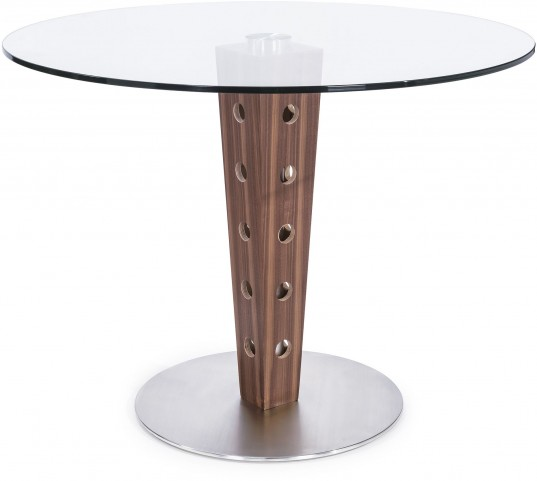 Elton Glass Top Dining Table