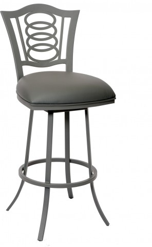 "Essex 26"" Gray Barstool"