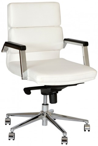 Fabian White Office Chair