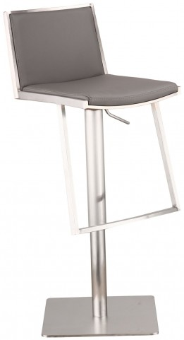Ibiza Gray Adjustable Barstool