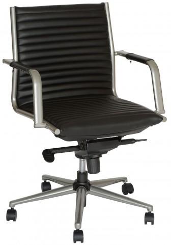 Leo Modern Black Office Chair