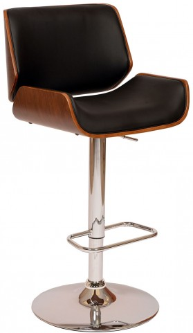 London Black Swivel Barstool