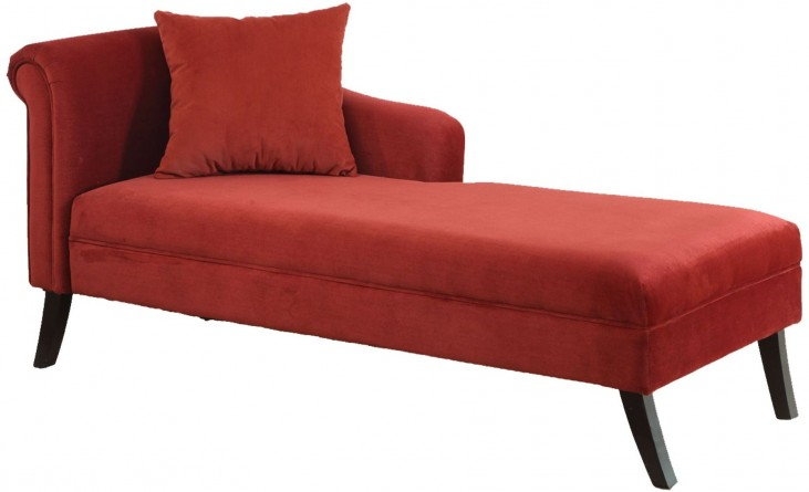 Patterson Maroon Chaise