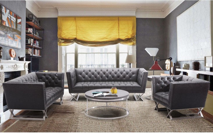 Odyssey Black Living Room Set