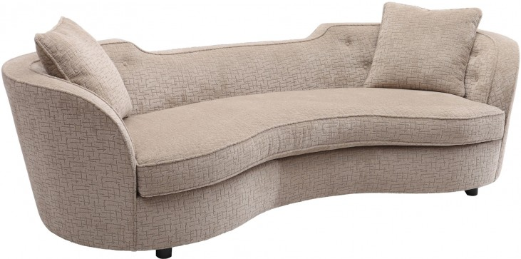 Palisade Sand Fabric Sofa