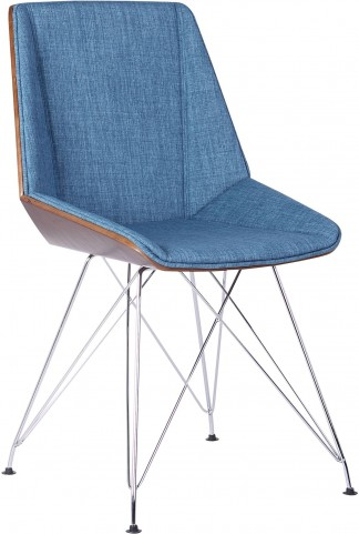 Pandora Blue Fabric Chair
