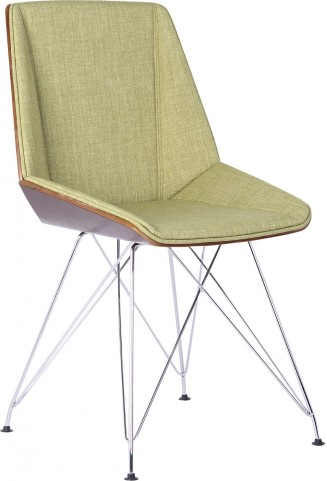 Pandora Green Fabric Chair