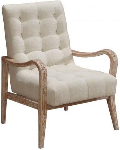 Regis Cream Accent Chair