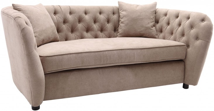Rhianna Camel Tufted Loveseat