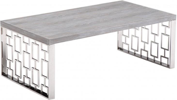 Skyline Grey Wash Coffee Table