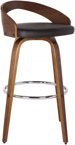 "Sonia 30"" Brown Barstool"