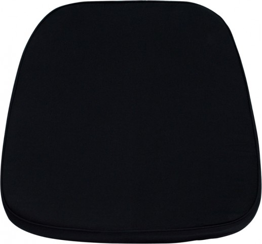 Black Chiavari Chair Cushion for Wood / Resin Chiavari Chairs